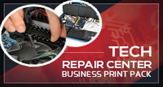 Tech Repair Center Print Templates