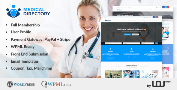 26 - Medical Directory - Hospitals & Doctors Listing Theme
