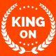 King On - One Page Creative  Agency Template