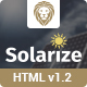 Solarize Multipurpose Small Business Html Template