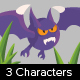 3 Game bats character