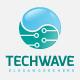 Tech Wave Logo