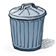 American Trash Can - GraphicRiver Item for Sale