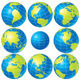 Vector Globes - GraphicRiver Item for Sale