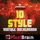 10 Style Vintage Backgrounds Vol. 4