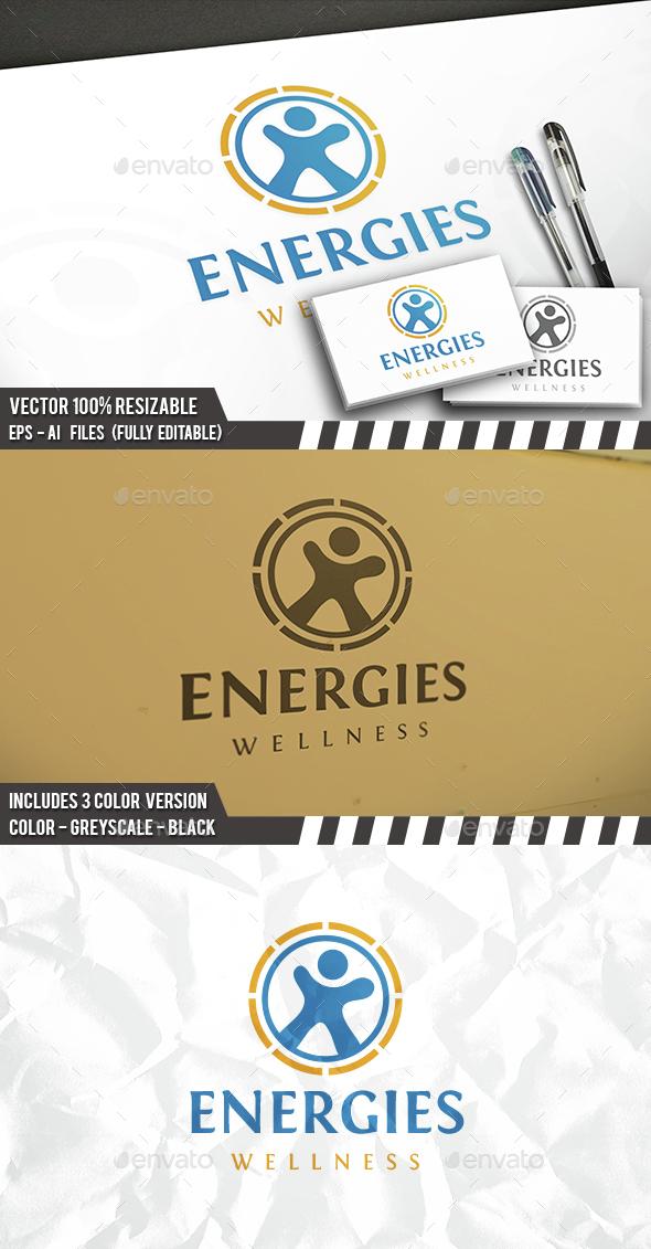 Energetic Fitness Logo