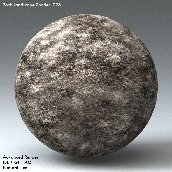 Rock Landscape Shader_026 - 3DOcean Item for Sale