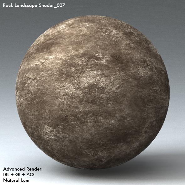 Rock Landscape Shader_027 - 3DOcean Item for Sale