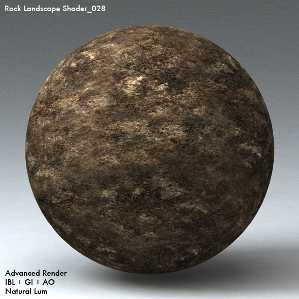 Rock Landscape Shader_028 - 3DOcean Item for Sale