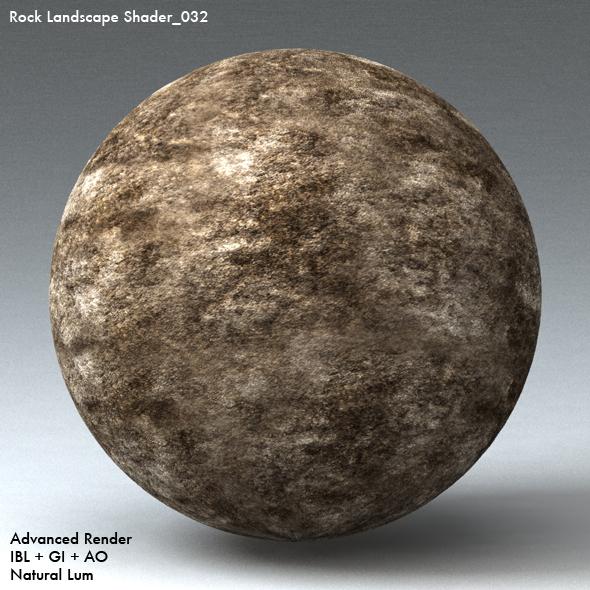 Rock Landscape Shader_032 - 3DOcean Item for Sale