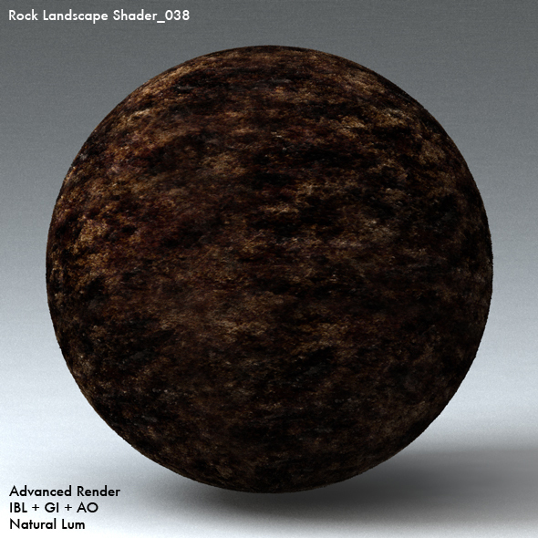 Rock Landscape Shader_038 - 3DOcean Item for Sale
