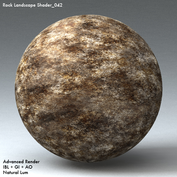 Rock Landscape Shader_042 - 3DOcean Item for Sale