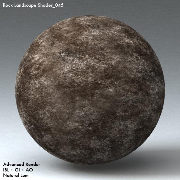 Rock Landscape Shader_045 - 3DOcean Item for Sale