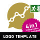 Stable Growth Logo Template - GraphicRiver Item for Sale