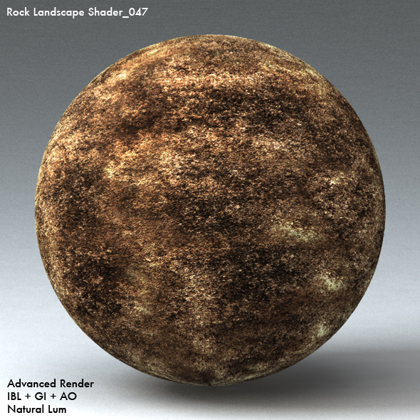 Rock Landscape Shader_047 - 3DOcean Item for Sale