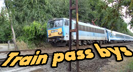 Train pass bys