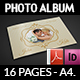 Wedding Album Template - 16 Pages