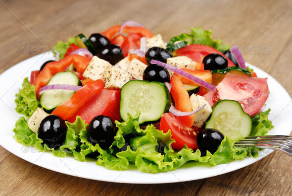 PhotoDune Greek salad 1476919