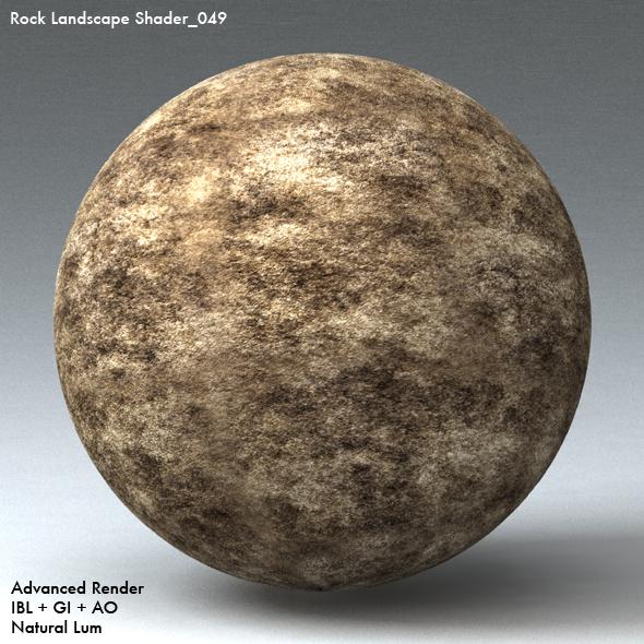 Rock Landscape Shader_049 - 3DOcean Item for Sale