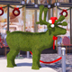 Topiary deer 3d model and scene
