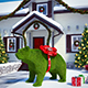 Topiary bear 3d model and scene