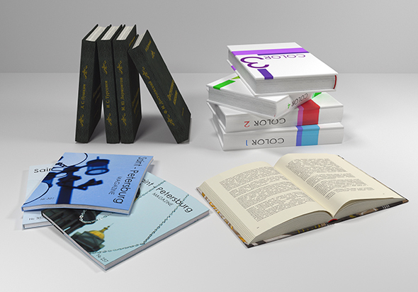 Set of books - 3DOcean Item for Sale