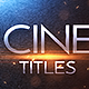 Cinematic Trailer Titles v2