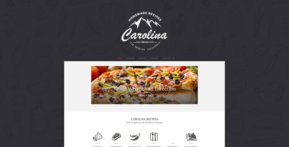Download Carolina - Homemade Recipes WordPress Theme nulled download
