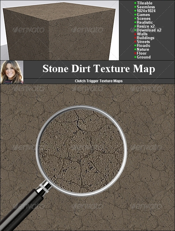 Stone Dirt - 3DOcean Item for Sale