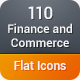 Finance and Commerce Flat Icons