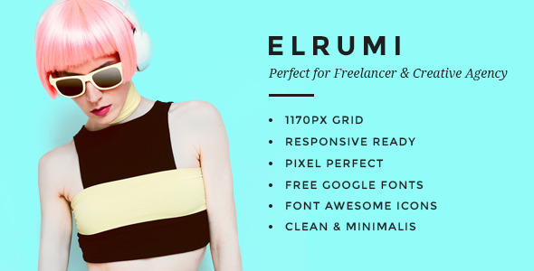 Elrumi - Creative HTML5 Bootstrap Template