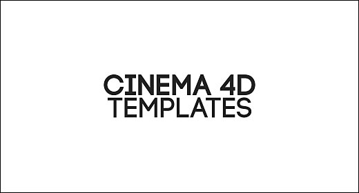 Cinema 4D templates