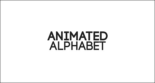 Animated Alphabet