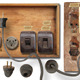 Antique electricity panel kit - GraphicRiver Item for Sale