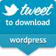 Tweet al Elŝutu por WordPress - WorldWideScripts.net Item por Vendo