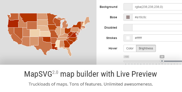 MapSVG - responsive vector maps and floorplans plugin for WordPress - CodeCanyon Item for Sale