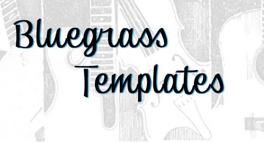 Bluegrass Songwriter Tracks