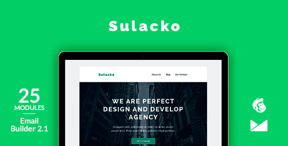 Sulacko Email Template + Online Emailbuilder 2.1