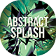 Abstract & Splash Flyer Design