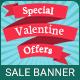 Valentine's Day   Sale Banner - 07 Sizes