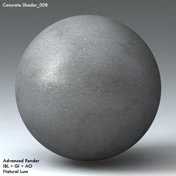 Concrete Shader_008 - 3DOcean Item for Sale