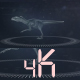 Utahraptor Hud Hologram