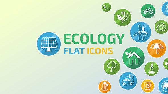 Ecology Concept Icons by ConceptCafe | VideoHive
