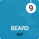 Beard Multipurpose Onepage | Multipage Responsive WordPress Theme