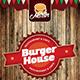 Burger House Menu Flyer