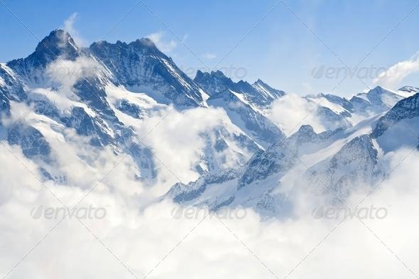 PhotoDune Jungfraujoch Alps mountain landscape 1482401