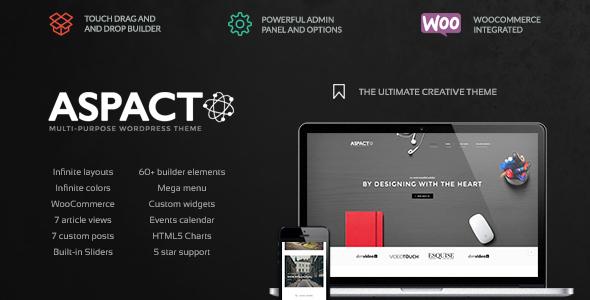 Aspact - Creative Agency Theme