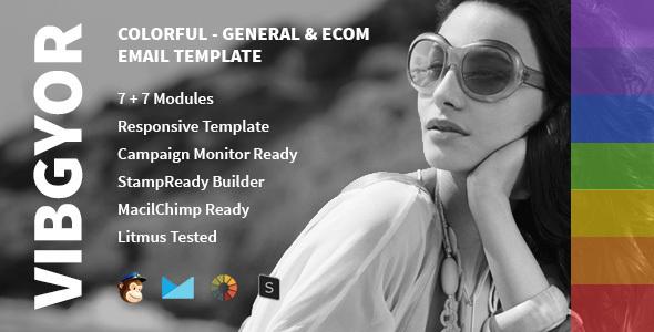 Vibgyor - Multipurpose Creative Email Template