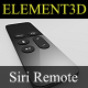 Element3D - Siri Remote for Apple TV