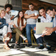 Download Startup team working and planning in the meeting from PhotoDune